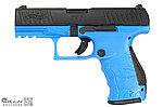 點一下即可放大預覽 -- 正版授權刻字~特殊藍 華瑟 Walther PPQ M2 GBB 瓦斯槍,手槍