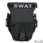 點一下即可放大預覽 -- NG品 黑色~特戰勤務腰腿掛包,雜物包,通勤包,掛包,收納包,腰包,收納袋,工具袋