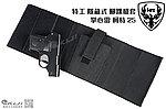 點一下即可放大預覽 -- 特工 隱藏式 腳踝槍套 + HFC 掌心雷 柯特 25 瓦斯槍,袖珍手槍
