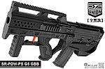 點一下即可放大預覽 -- 2017年新款 SRU SR-PDW-PS G5【全黑款】GBB 瓦斯槍,衝鋒槍