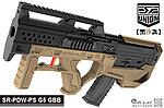 點一下即可放大預覽 -- 2017年新款 SRU SR-PDW-PS G5【黑沙款】GBB 瓦斯槍,衝鋒槍