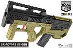 點一下即可放大預覽 -- 2017年新款 SRU SR-PDW-PS G5【黑綠款】GBB 瓦斯槍,衝鋒槍