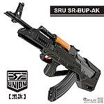 點一下即可放大預覽 -- 2017年新款 SRU SR-BUP-AK【黑色】GHK GKM GBB 瓦斯長槍