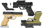 特價!【展示品出清特惠$2999】沙色~SRU SR-GF G18 克拉克 瓦斯手槍