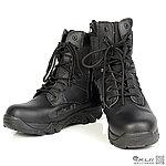 45號 黑色 長筒戰鬥靴,戰術靴,戰鬥鞋