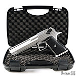 點一下即可放大預覽 -- 限量促銷中 ~ HFC 銀色 沙漠之鷹 瓦斯槍,手槍,BB槍(豪華槍箱版)