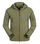 點一下即可放大預覽 -- 特價!NG品 M號 綠色~TAD V4.0 鯊魚皮潛行者軟殼外套,風衣,衝鋒衣