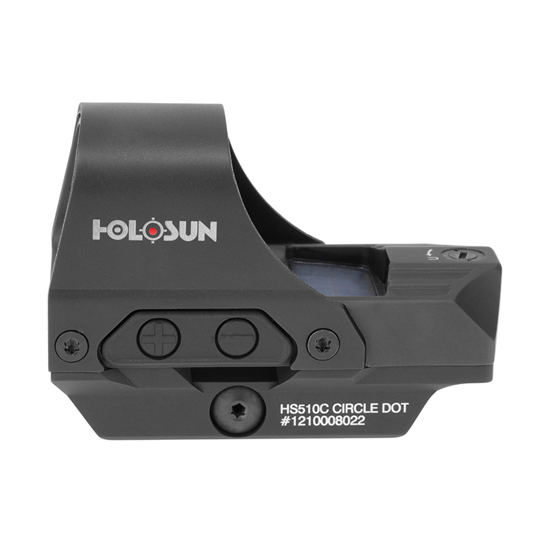 真品 保固5年~HOLOSUN HS510C 軍規 雙電能 反射式瞄具,快速瞄準器 ,快瞄鏡,內紅點