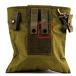 NG品 OD軍綠色~折疊式彈匣回收袋,彈夾收納袋