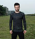 警黑魔蠍迷彩 L號~戰術排汗上衣,戰鬥服,長袖上衣,涼爽,速乾T恤