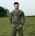 叢林魔蠍迷彩 XL號~戰術排汗上衣,戰鬥服,長袖上衣,涼爽,速乾T恤