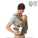 多地形迷彩~QuokkaJoy 限定版 迷彩嬰兒背袋,人體工學 背巾,美國原廠布料