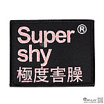 Super manic 極度害臊(方型),電繡臂章,識別章