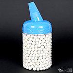 點一下即可放大預覽 -- 中奶瓶~『 0.2g 』BLS 5.95mm 精密研磨 BB彈 (約1000顆)