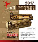 台灣製造 Action Army VSR11 (VSR10) 空氣槍彈匣(50發)(For Marui VSR10 / WELL VSR10)