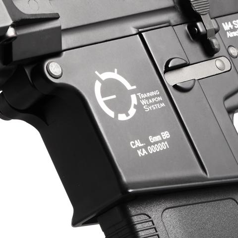 買就送電池+充電器~King Arms TWS M4 VIS CQB 全金屬電動槍,電槍
