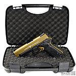 點一下即可放大預覽 -- HFC 狼棕~M1911 戰術魚骨版 全金屬瓦斯槍 (附豪華槍箱),可CO2雙動力,手槍