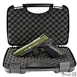 點一下即可放大預覽 -- HFC 軍綠~M1911 戰術魚骨版 全金屬瓦斯槍 (附豪華槍箱),可CO2雙動力,手槍