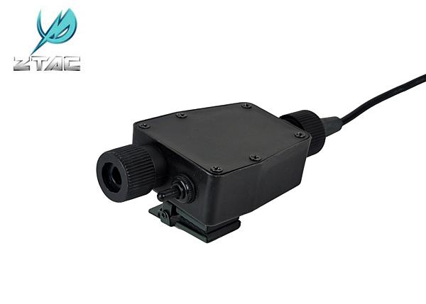 Z-TAC TEA PTT 抗噪耳機用發話器 軍規插頭 外銷歐美版 KENWOOD專用 Z116