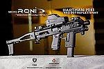 點一下即可放大預覽 -- 真品 CAA 正廠真槍廠授權刻字 Micro RONI® 戰術衝鋒槍套件(FOR 克拉克 G17/22/31)