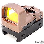沙色~RMS 光控內紅點 (附精美防震盒、高鏡座、GLOCK鏡座),快瞄鏡