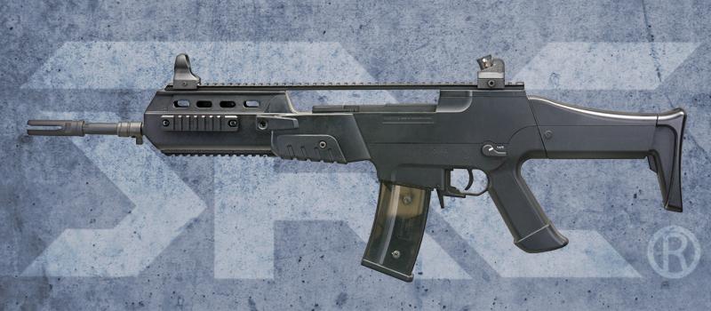 SRC SR8-R 步槍 電動槍~黑色,電槍,BB槍,長槍