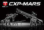 點一下即可放大預覽 -- 一芝軒 ICS 火星悍將 CXP-MARS SBR 全金屬電動槍(FET版)~黑色,電槍(ICS-301)