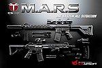 點一下即可放大預覽 -- 一芝軒 ICS 火星悍將 CXP-MARS DMR 全金屬電動槍(FET版)~黑色,電槍(ICS-303)