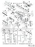 點一下即可放大預覽 -- HFC P226 L版 全金屬瓦斯槍 爆炸圖(HG-170)