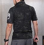 點一下即可放大預覽 -- 警黑魔蠍迷彩 L號~戰術短袖上衣,戰鬥服,T恤