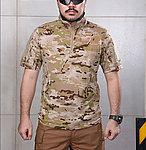 點一下即可放大預覽 -- 沙漠魔蠍迷彩 XL號~戰術短袖上衣,戰鬥服,T恤