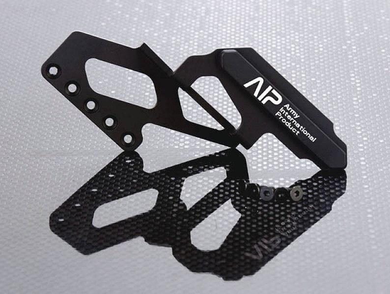 AIP 90度 C-More 鋁製 專用鏡橋~黑色