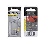 點一下即可放大預覽 -- 正品~NITE IZE SLIDELOCK 斯萊德 帶鎖C型扣 #3~不鏽鋼原色(CSL3-11-R6),C字扣,D字扣,登山扣,鑰匙扣