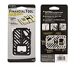 點一下即可放大預覽 -- 正品~NITE IZE FINANCIAL TOOL 夾錢小工具~黑鈦色(FMT-01-R7) ,不鏽鋼鍛造,7種功能 ,堅固耐用