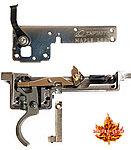 點一下即可放大預覽 -- 楓葉精密 2017 CNC 鋼製 VSR10 DT-M40 狙擊槍 無限強化「90度」板機組總成