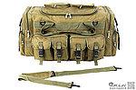 OD綠~軍用模擬戰術旅行包,裝備袋,行李包,單肩包,手提包,BB槍袋,BB槍袋,生存遊戲收納包