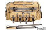 沙色~軍用模擬戰術旅行包,裝備袋,行李包,單肩包,手提包,BB槍袋,BB槍袋,生存遊戲收納包