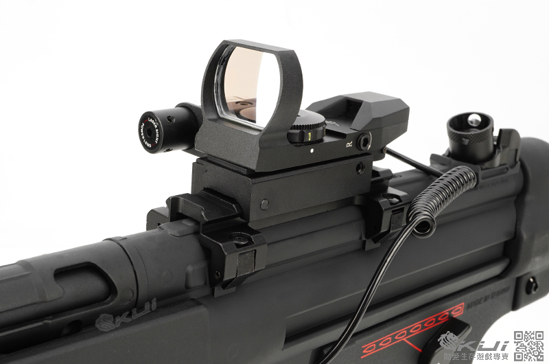 [紅雷+快瞄運動版]~怪怪 G&G MP5 A4 Plastic STD 電動槍,電槍(槍機可動)