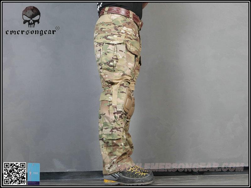 EMERSON 愛默生【多地型迷彩 36腰】升級版 G3 戰鬥褲,迷彩褲,長褲,作戰褲(含護膝)