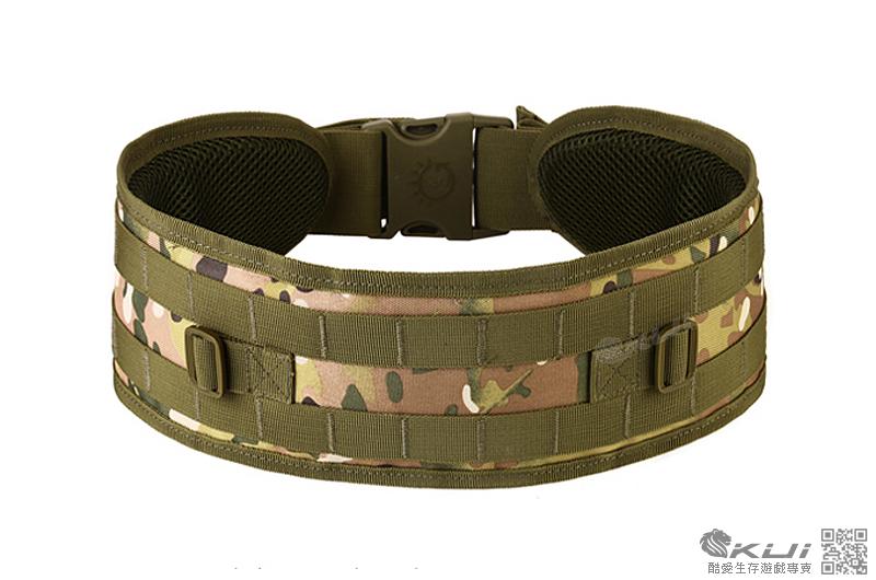 多地迷彩色~美軍MOLLE 特戰腰封,戰術腰帶,護腰,腰靠