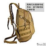 點一下即可放大預覽 -- 黑色~戶外戰術雙肩背包,旅行包,沖鋒包,雜物包,通勤包,收納包,收納袋,登山包