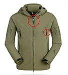 【NG品】S號 綠色~TAD V4.0 鯊魚皮潛行者軟殼外套,風衣,衝鋒衣