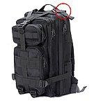 點一下即可放大預覽 -- 【NG品】黑色~美軍MOLLE系統3P攻擊背包,雜物包,通勤包,收納包,收納袋,登山包