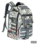 點一下即可放大預覽 -- 【NG品】ACU色~美軍 X7 戰術電腦包,戰術背包,箭魚戰術包,雙肩作戰突擊包
