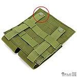 【NG品】OD 綠色~美軍 MOLLE 模組化雙連裝彈匣袋,收納袋,掛包,收納包