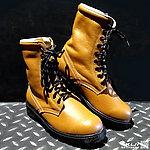 41號 MIT 牛皮長筒 戰鬥靴~淺咖啡色,戰術靴,戰鬥鞋,軍靴,登山靴,軍鞋