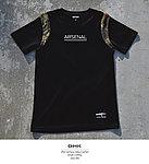 點一下即可放大預覽 -- GHK 17 S/S ARSENAL G.M 戰術短袖上衣 黑色+蟒紋款~M號,戰鬥服,T恤