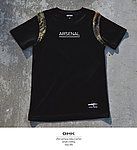點一下即可放大預覽 -- GHK 17 S/S ARSENAL G.M 戰術短袖上衣 黑色+蟒紋款~L號,戰鬥服,T恤