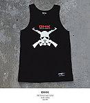 點一下即可放大預覽 -- GHK 17 S/S MASK 無袖上衣~黑色 M號,背心,汗衫