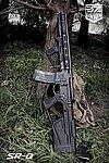 點一下即可放大預覽 -- SRU SR-Q M4 GBB專用 戰術握把+槍托組~黑色